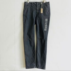 American Eagle Gray Skinny Low Rise Stretch Jeans